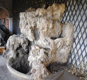 Fontaine en rocaille.